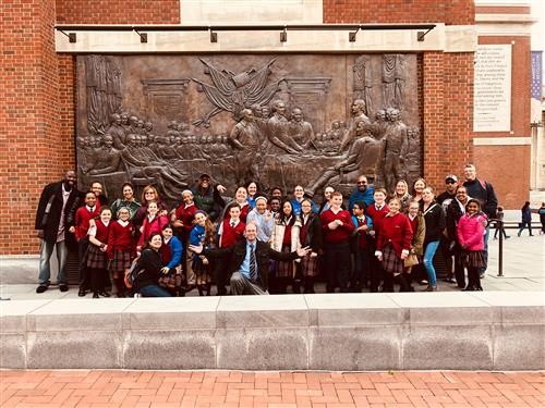 Field Trip to The Museum of the American Revolution Fall 2018