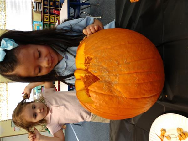 Mrs. McCafferty Pre-K 3 / Pumpkins 2019